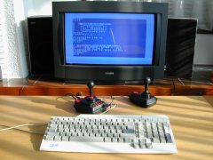 Testing the C64-DTV with 1541-III.